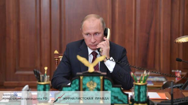 Путин обязал Зеленского выполнить Минские соглашения