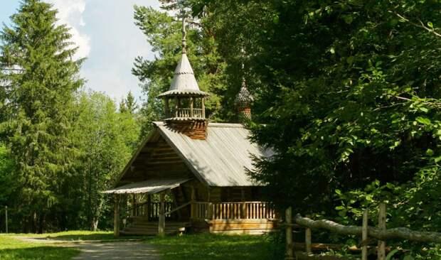 Красоты России. Музей деревянного зодчества Малые Корелы