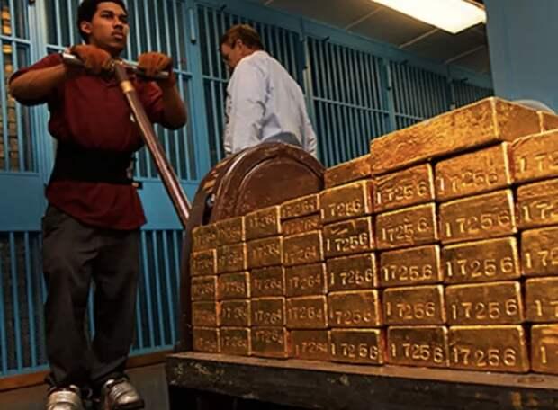 Действия России вдохновили многие страны начать забирать свое золото из США