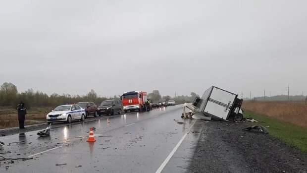 Пять человек погибли в ДТП в Красноярском крае