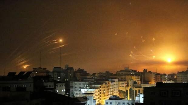 Израиль заявил о пуске 2800 ракет из сектора Газа с начала обострения