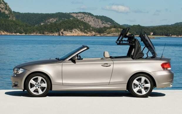 Спустя 70 лет: тент с сервоприводом на кабриолете BMW 1-й серии, модель 2008 года