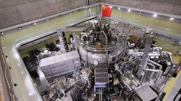 Китай удержал плазму в течение 101 секунды при 120 млн градусов и установил новый рекорд