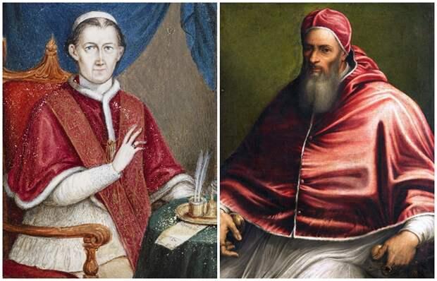 Кто из понтификов не очень серьёзно относился к целибату, и Почему церковь закрывала на это глаза