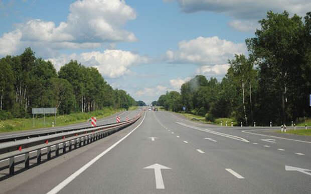 На трассе «Беларусь» в Подмосковье разрешили скорость 110 км/ч