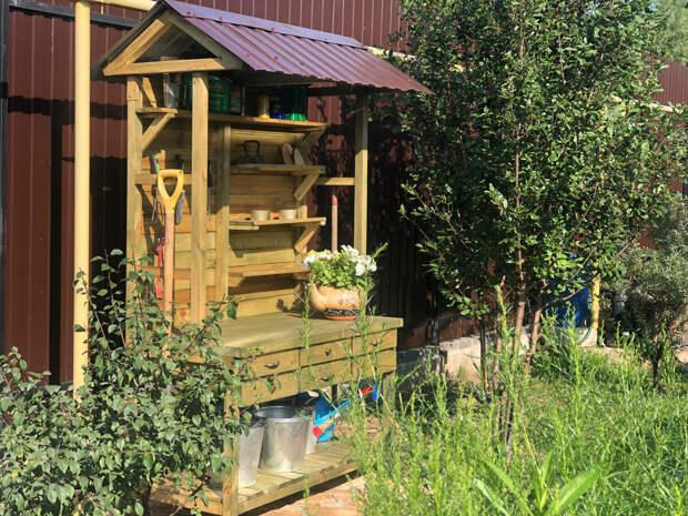 Стол садовода готов: хвастаюсь результатом