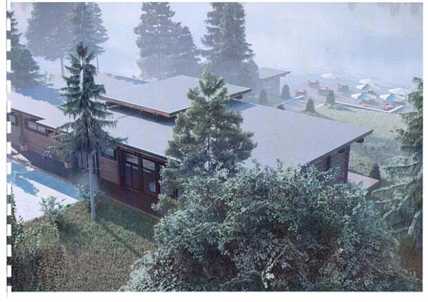 Появился проект коттеджного поселка для чиновников на Черном озере
