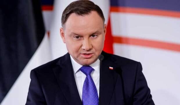 Президент Польши назвал Россию агрессивной страной