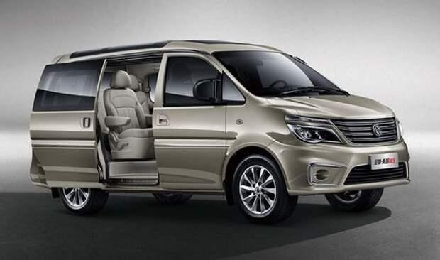 Макияж для японского ветерана: стартовали продажи минивэна Dongfeng Lingzhi M5