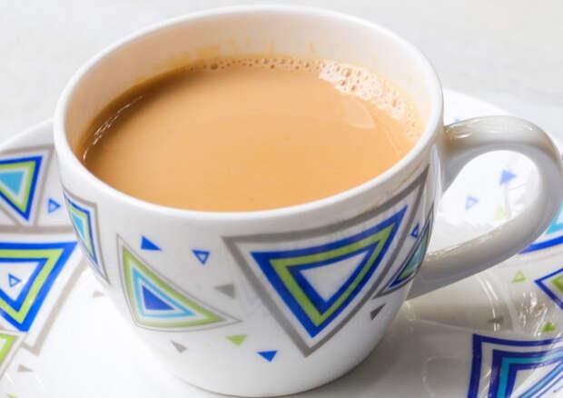 Чай с молоком обеспечивает эффективное внутриклеточное очищение организма