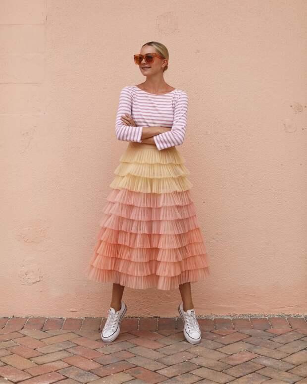 Как стильно носить кеды летом: 18 идей, которые дарят удобство и комфорт