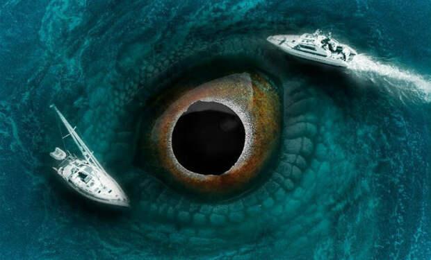 Необъяснимые находки и явления на море: подводная лестница ведет в океанский разлом