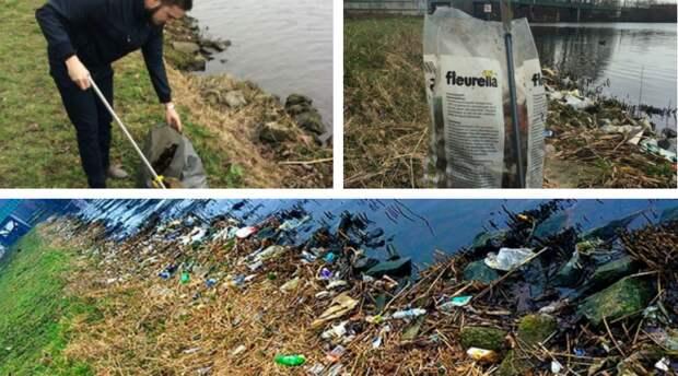 Его раздражал вездесущий мусор. то, что он сделал, заслуживает аплодисментов!