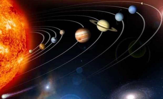 ПМ: вот так велики Солнечная система, галактика и Вселенная