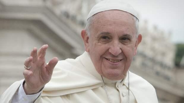 Папа римский прокомментировал ситуацию в США после протестов