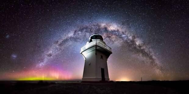 Потрясающее звездное небо над Новой Зеландии