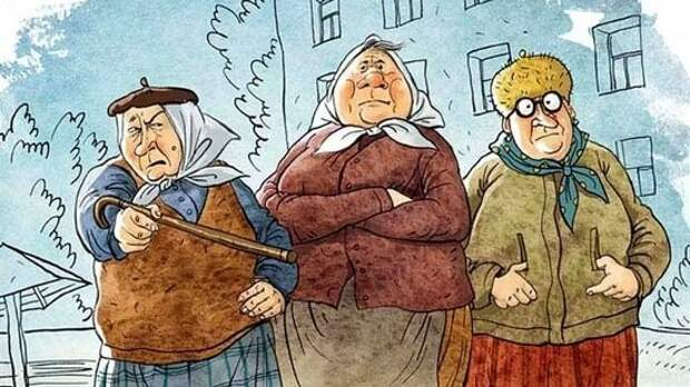 Бабки у подъезда спорят, кто лучше – Трамп или Байден. Других проблем нет?