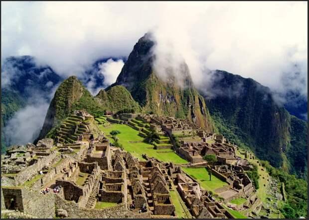 Загадочные стены Саксайуамана Куско Перу
