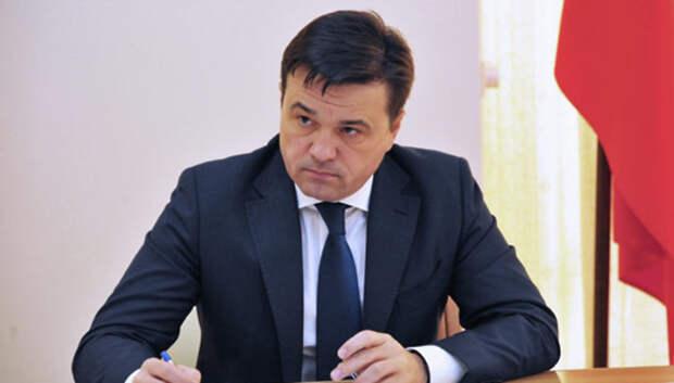 Воробьев попросил у президента поддержки в цифровизации госуслуг