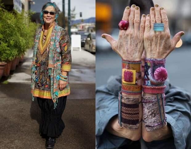Плетеные из бисера ожерелья и текстильные браслеты - все приветствуется в этническом Бохо