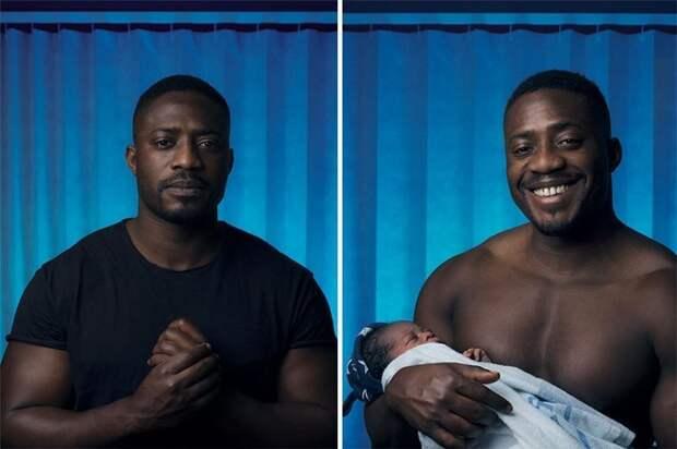 Гектор Адебамбо, 32 года дети, люди, мужчина, рождение, фотограф, эмоция