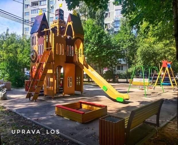 На Тайнинской появится детская площадка