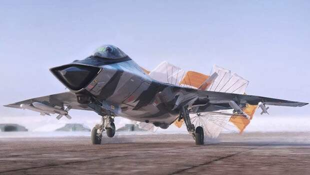 MiG-41 Sixth Generation Heavy Interceptor - artwork