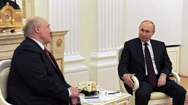 Лукашенко обсудил сПутиным вопросы экономического взаимодействия
