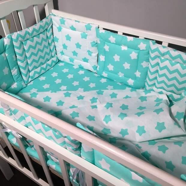 Бортики в кроватку: для чего нужны, какие выбрать