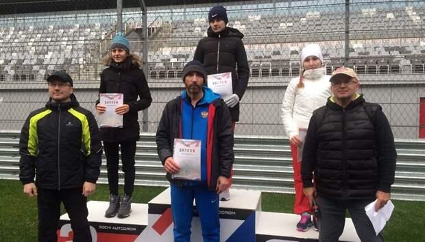 Спортсменка из Подольска получила бронзу на чемпионате России по ходьбе в Сочи