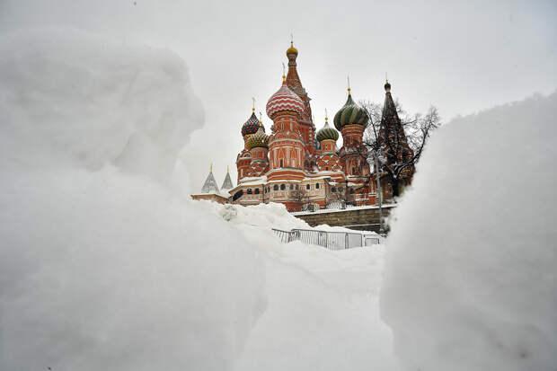 Москву заметёт снегом