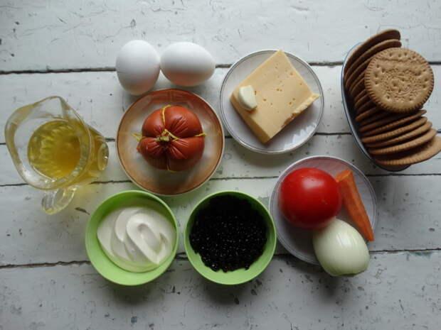Салат «Тёще на язык» рецепт от моего мужа — когда всё просто, но оригинально
