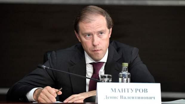 Мантуров заявил, что сокращение производства SSJ-100 не планируется