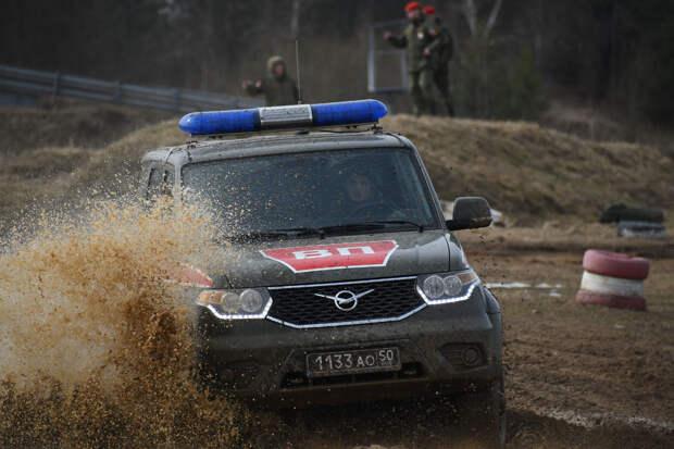 Проведение окружного конкурса АрМИ-2021 «Страж порядка» в Московской области