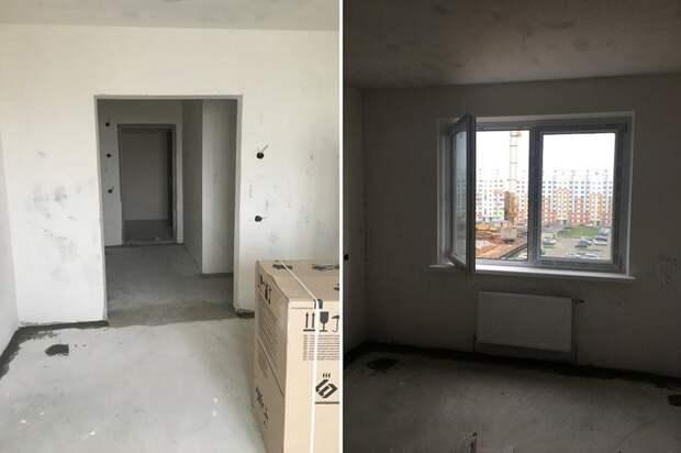 Девушка с родителями круто преобразила квартиру площадью всего 40 «квадратов»