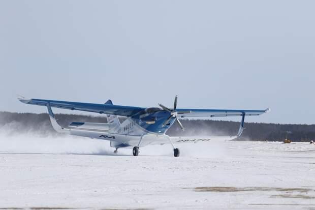 В Якутске представили новый самолет ТВС-2ДТС