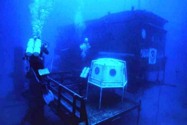 Как Жак-Ив Кусто с командой три месяца жил и работал на дне океана