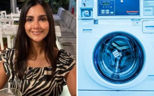 Британка заглянула в стиральную машинку и обнаружила неожиданного гостя
