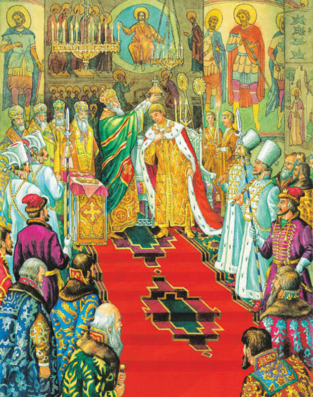 венчание на царство Ивана Грозного в 1547 году