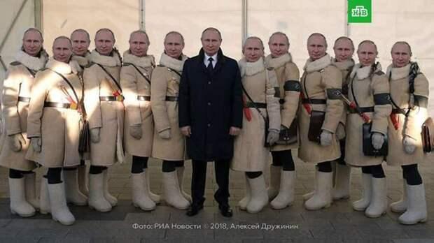 Песков признал, что портреты Путина в кабинетах - полная фигня