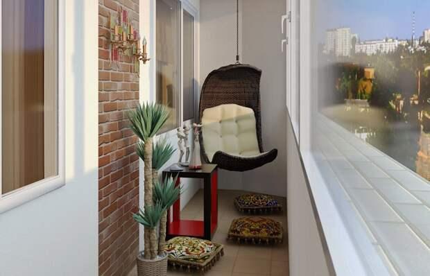 Для качественного отдыха дома нет ничего лучше, чем правильно обустроенный балкон. /Фото: art-oboi.com.ua