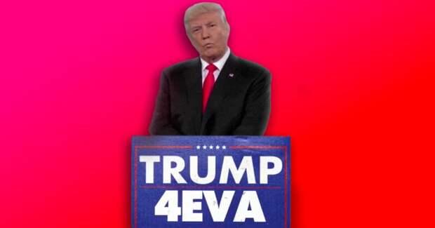 73-летний Трамп смешно шутит в Твиттере после провала импичмента