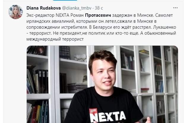 """За Протасевичем следил """"лысый русский"""""""