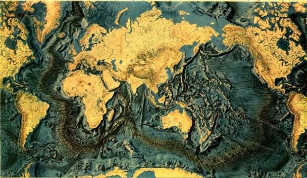 Ученые нанесли на карту пятую часть океанского дна Земли