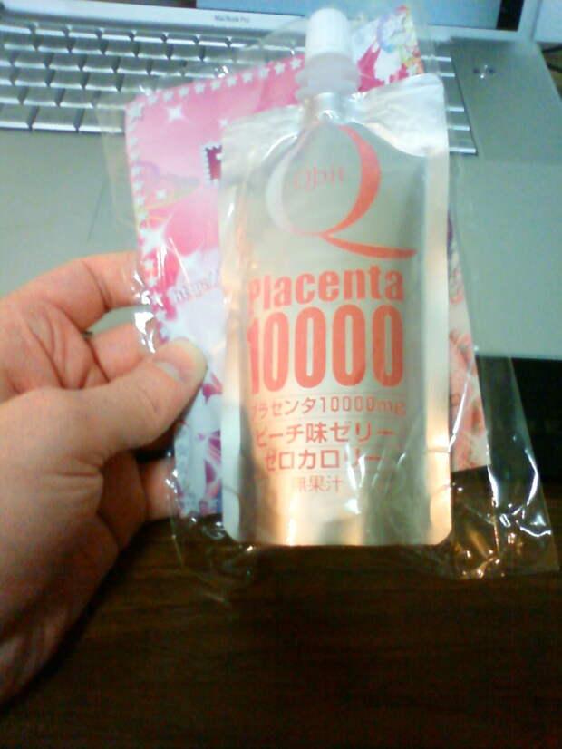 Placenta Soft Drink еда, жесть, факты