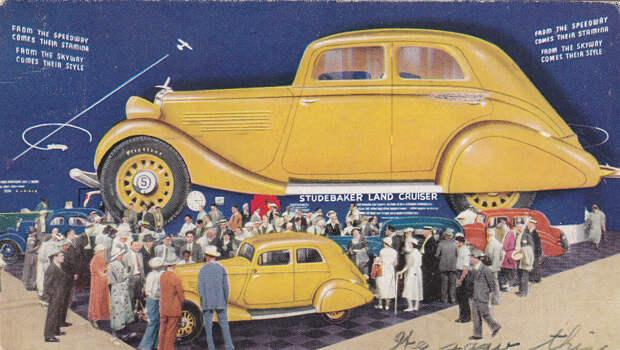 Зачем в компании Studebaker создали самые большие в мире автомобили?