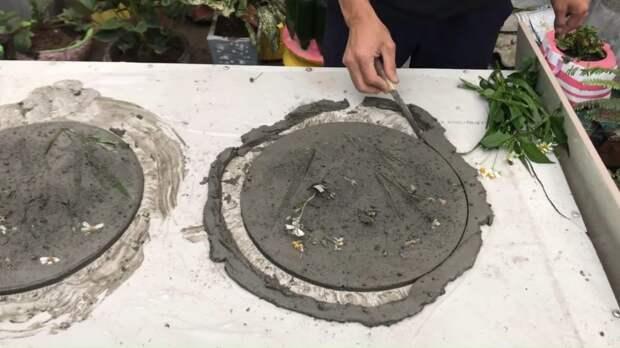 Обалденное новшество для дома и сада из цемента и цветов