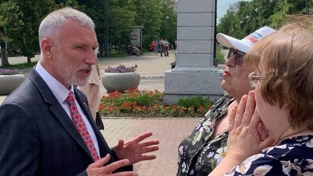 Депутат Журавлев пообещал помочь жителям Курской области решить экологические проблемы