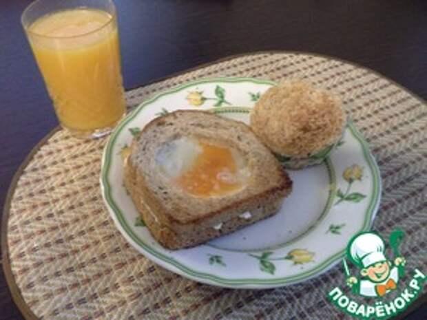 Яйцо в тосте