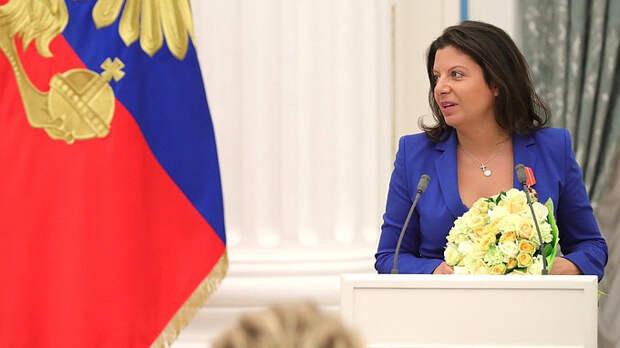 В Госдуме РФ объяснили, почему призыв Симоньян по Донбассу должен оставаться просто словами